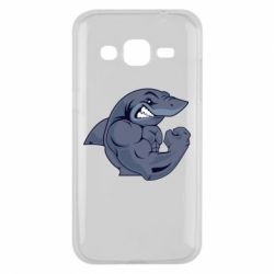 Чохол для Samsung J2 2015 Gym Shark