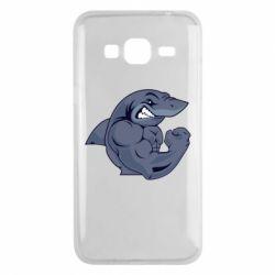 Чохол для Samsung J3 2016 Gym Shark
