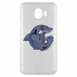 Чохол для Samsung J4 Gym Shark