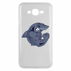Чохол для Samsung J7 2015 Gym Shark
