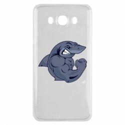Чохол для Samsung J7 2016 Gym Shark