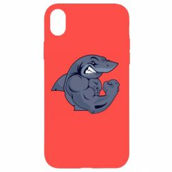 Чохол для iPhone XR Gym Shark