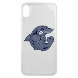 Чохол для iPhone Xs Max Gym Shark