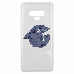 Чохол для Samsung Note 9 Gym Shark