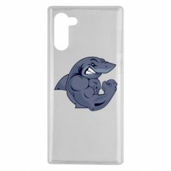 Чохол для Samsung Note 10 Gym Shark