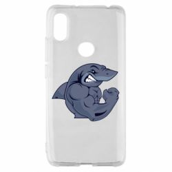 Чохол для Xiaomi Redmi S2 Gym Shark