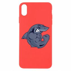 Чохол для iPhone X/Xs Gym Shark
