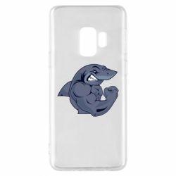 Чохол для Samsung S9 Gym Shark