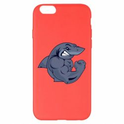 Чохол для iPhone 6 Plus/6S Plus Gym Shark