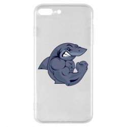 Чохол для iPhone 8 Plus Gym Shark