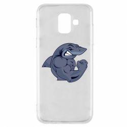 Чохол для Samsung A6 2018 Gym Shark