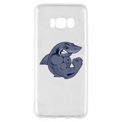 Чохол для Samsung S8 Gym Shark