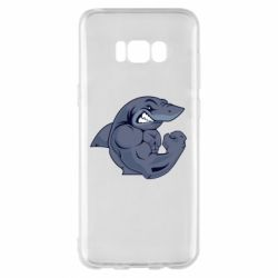 Чохол для Samsung S8+ Gym Shark