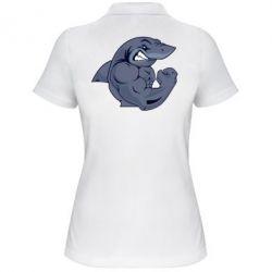 Женская футболка поло Gym Shark - FatLine