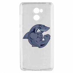 Чохол для Xiaomi Redmi 4 Gym Shark