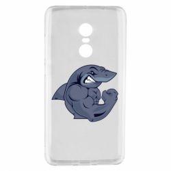 Чохол для Xiaomi Redmi Note 4 Gym Shark