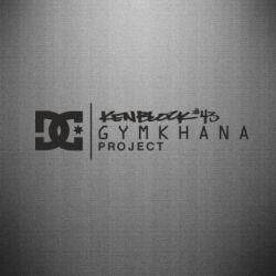 Наклейка Gymkhana Project Ken Block - FatLine