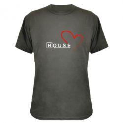 Камуфляжна футболка H - FatLine