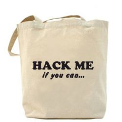 Сумка Hack me if you can - FatLine