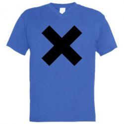 Чоловіча футболка з V-подібним вирізом Hacker
