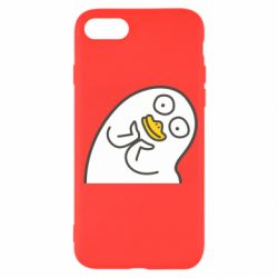 Чехол для iPhone 7 Half duck