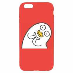 Чехол для iPhone 6/6S Half duck