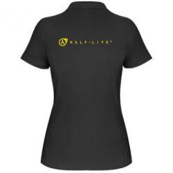 Женская футболка поло Half-Life 2 - FatLine