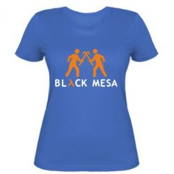 Женская футболка Half Life Black Mesa - FatLine