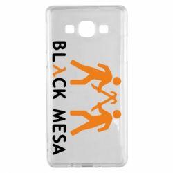 Чехол для Samsung A5 2015 Half Life Black Mesa - FatLine
