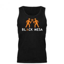 Мужская майка Half Life Black Mesa - FatLine