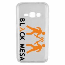 Чехол для Samsung J1 2016 Half Life Black Mesa - FatLine