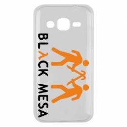 Чехол для Samsung J2 2015 Half Life Black Mesa - FatLine