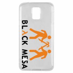 Чехол для Samsung S5 Half Life Black Mesa - FatLine