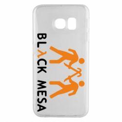 Чехол для Samsung S6 EDGE Half Life Black Mesa - FatLine