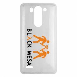 Чехол для LG G3 mini/G3s Half Life Black Mesa - FatLine