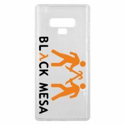 Чехол для Samsung Note 9 Half Life Black Mesa - FatLine