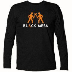 Футболка с длинным рукавом Half Life Black Mesa - FatLine