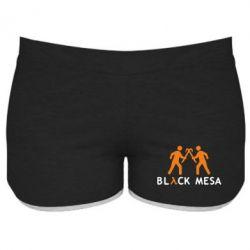 Женские шорты Half Life Black Mesa - FatLine