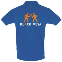 Футболка Поло Half Life Black Mesa - FatLine