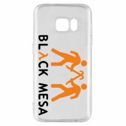 Чехол для Samsung S7 Half Life Black Mesa - FatLine