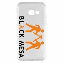 Чехол для Samsung A3 2017 Half Life Black Mesa - FatLine