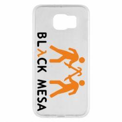 Чехол для Samsung S6 Half Life Black Mesa - FatLine