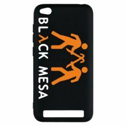 Чехол для Xiaomi Redmi 5a Half Life Black Mesa - FatLine