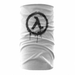 Бандана-труба Half life logo graffiti