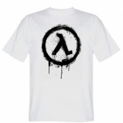 Чоловіча футболка Half life logo graffiti