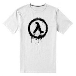 Чоловіча стрейчева футболка Half life logo graffiti