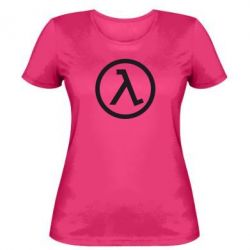 Женская футболка Half Life Logo