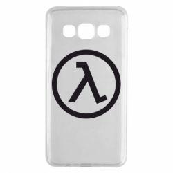 Чехол для Samsung A3 2015 Half Life Logo