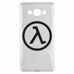 Чехол для Samsung A5 2015 Half Life Logo