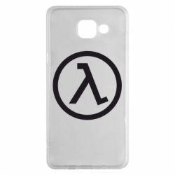 Чехол для Samsung A5 2016 Half Life Logo